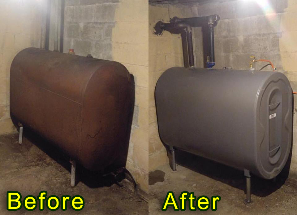 Basement Oil Tank Replacement NY CT NJ