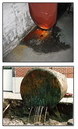leaking oil tank clean up CT, NY and NJ